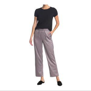 Eileen Fisher Pull-On Straight Leg Polyester Pant